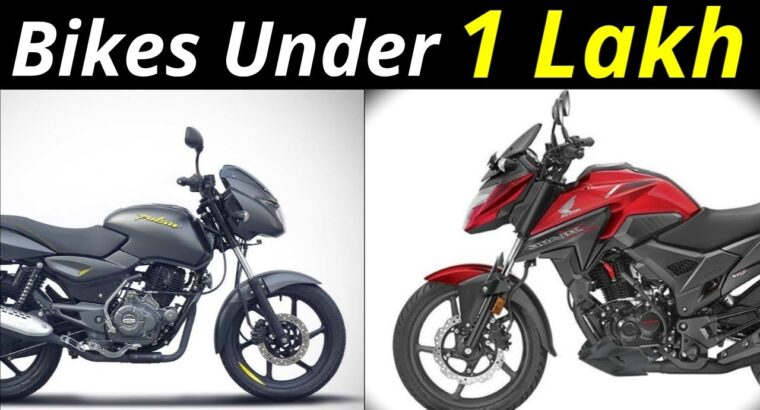 Finest Bikes below 1 Lakh In india by #Motomantra