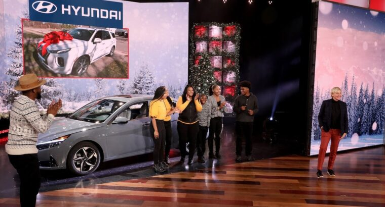 Ellen Items Deserving Household with Two Model-New Automobiles!