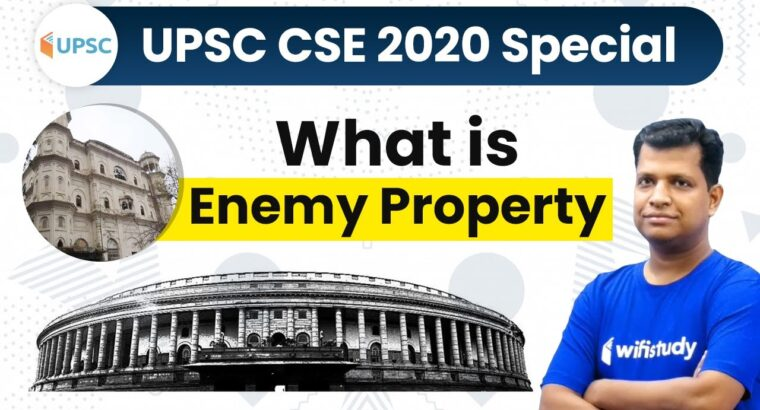 Enemy Property Act India in Hindi   Panel Headed to Monitor Disposal of Over 9400 Enemy Properties