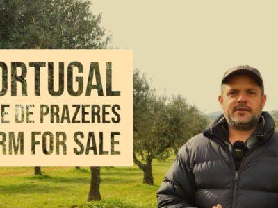 FARM FOR SALE – Vale de Prazeres, Fundão, Central Portugal, VIRTUAL PROPERTY TOUR