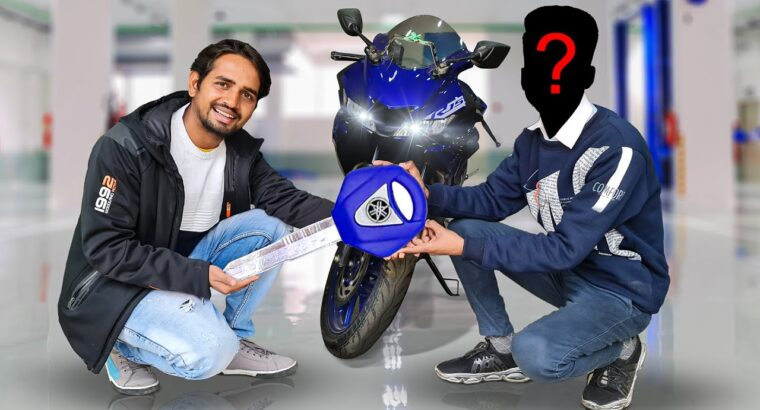 Giving R15 Bike To My Subscriber – Value 150000 Rupees