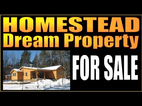 HOMESTEAD DREAM PROPERTY FOR SALE. Gardens, Rooster Coop, Acreage.