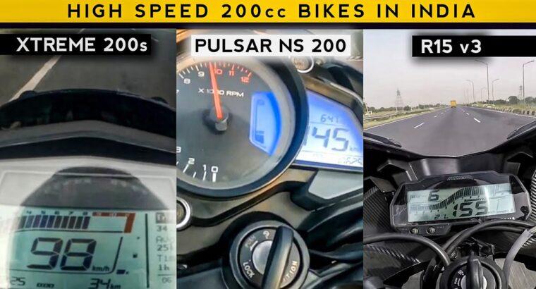 Excessive Prime Velocity 200cc Bikes in India | 200cc New Bikes | Rishav Arya