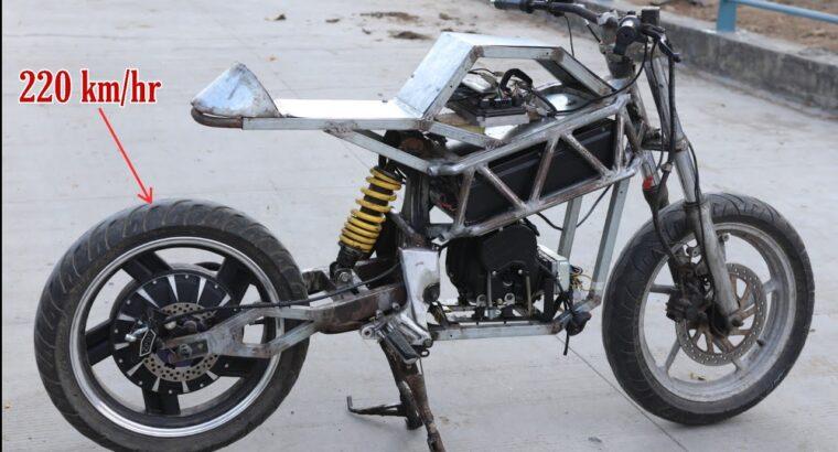 Do-it-yourself electrical sports activities bike    DIY Venture