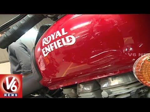 Big Demand For Royal Enfield Bikes In Hyderabad Metropolis In This Festive Season   V6 Information