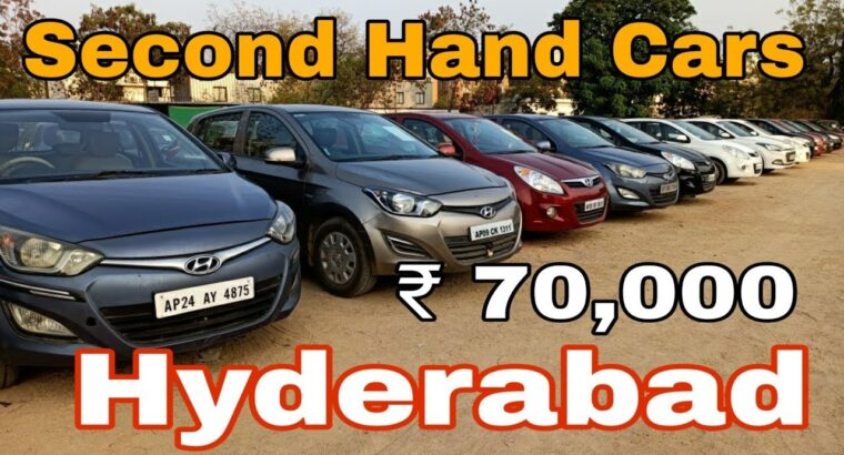 Hyderabad second Hand vehicles market | Used vehicles ranging from 70,000 | Proper Automobiles