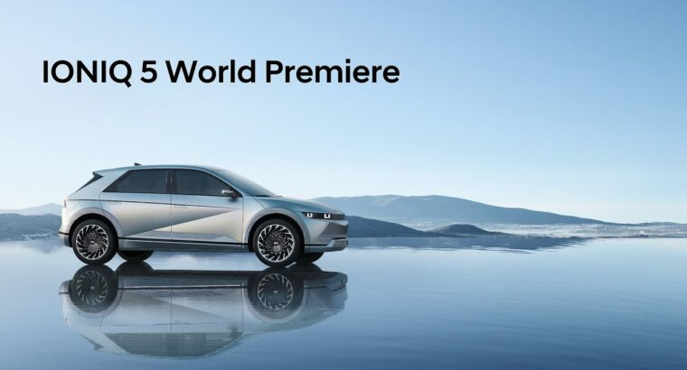 IONIQ 5 World Premiere