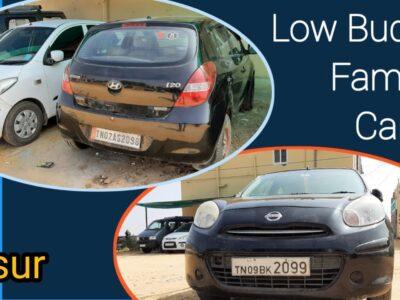 Low price range household automobiles on the market in hosur || low price range used automobiles on the market in hosur