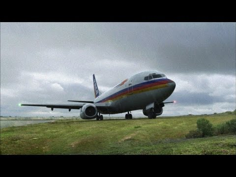 Miraculous Airplane Touchdown on New Orleans Levee