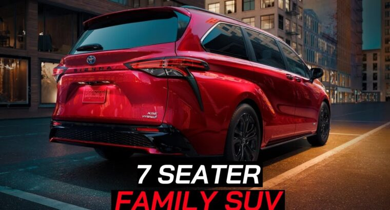 New 10🔥Upcoming 7 SEATER FAMILY SUV CARS In India In 2020-2021   Newest 7 Seater Suv Launched 🔥