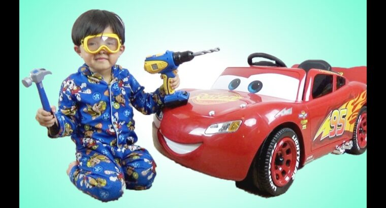 New Disney Vehicles three Lightning McQueen 6V Battery-Powered Experience On Take a look at Drive Park Playtime