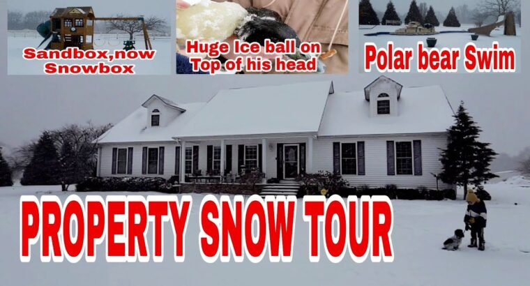 PROPERTY SNOW TOUR WITH RELAXING MUSIC