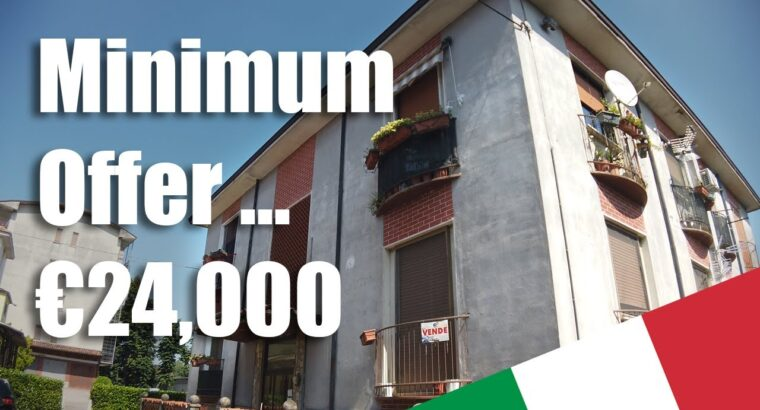 Paying money for our first rental property in Italy Actual property public sale