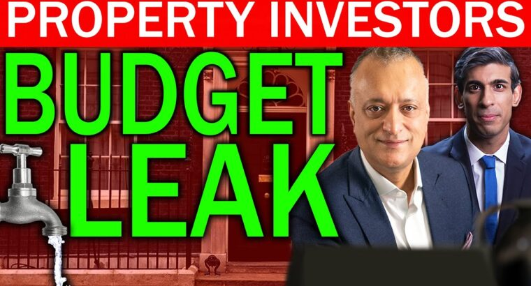 Rishi Sunak's Price range Leaked & What It Means For Traders | Property Traders | Price range 2021 Preview