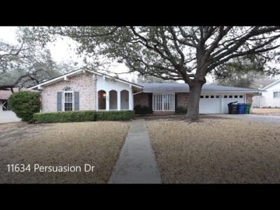 San Antonio Properties for Lease 3BD/2BA by Property Administration in San Antonio