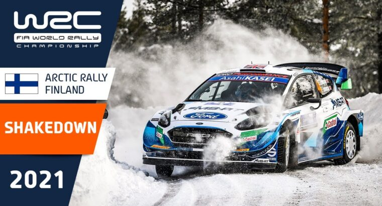 Shakedown Highlights – WRC Arctic Rally Finland 2021 Powered by CapitalBox