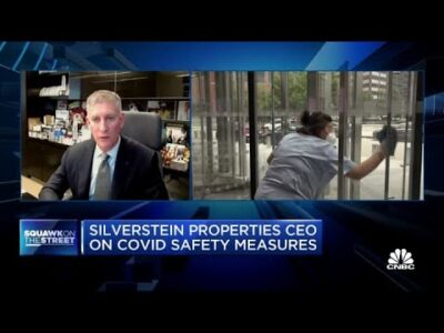 Silverstein Properties CEO on his actual property outlook and return to work technique