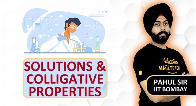 Options And Colligative Properties In One Shot – Fast Revision   JEE & NEET 2020   Pahul Sir