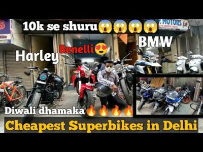 Superbikes in 2 lakh | Benelli tnt 600| harley | BMW| @Throttle it out!