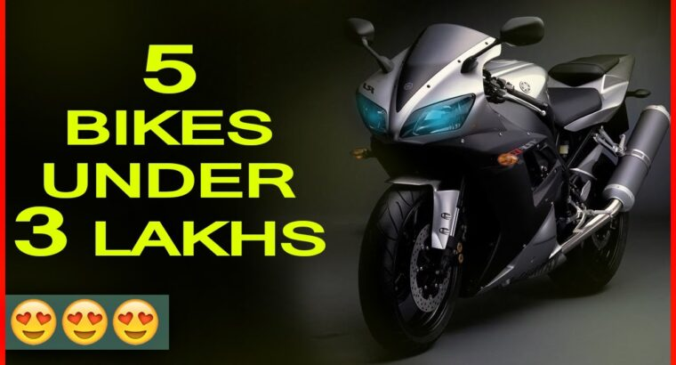 TOP 5 bikes underneath three lakhs    Superior appears    Greatest bikes in India  2017