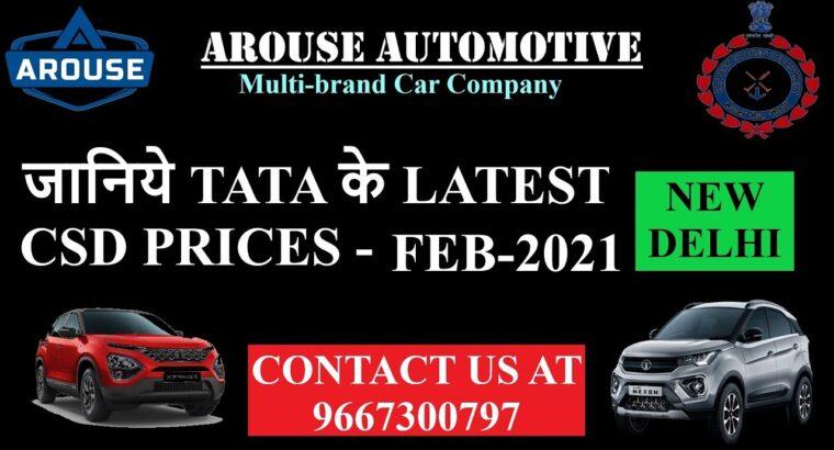 Tata CSD Feb 2021 Value Record (Arouse Automotive Multi model Automobile Firm Delhi Contact: 9667300797)
