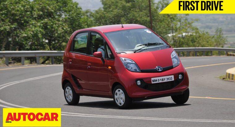 Tata GenX Nano | First Drive | Autocar India