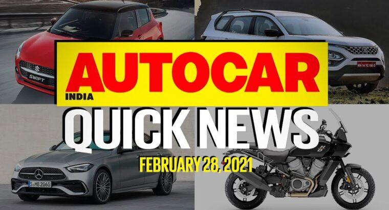 Tata Safari & Maruti Suzuki Swift Facelift Costs and Hyundai Alcazar   Fast Information   Autocar India