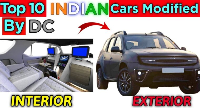 Prime 10 Indian vehicles modified by DC   10 गाड़ियां जिन्हें डीसी ने मॉडिफाई किया है  
