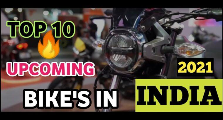 Prime 10 upcoming bike's in India in 2021| Below 2 lakh greatest bike's 🔥