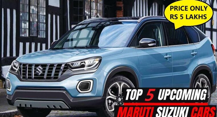High 5 Upcoming Maruti Suzuki Automobiles in India   Value From Rs 5 Lakhs   2021 Celerio   2021 Alto   XL5