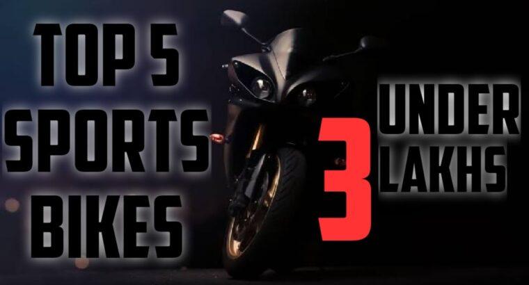 High 5 sports activities bikes beneath three lakh 2020 || greatest bikes sporty || prime bikes beneath three lakhs || greatest bikes