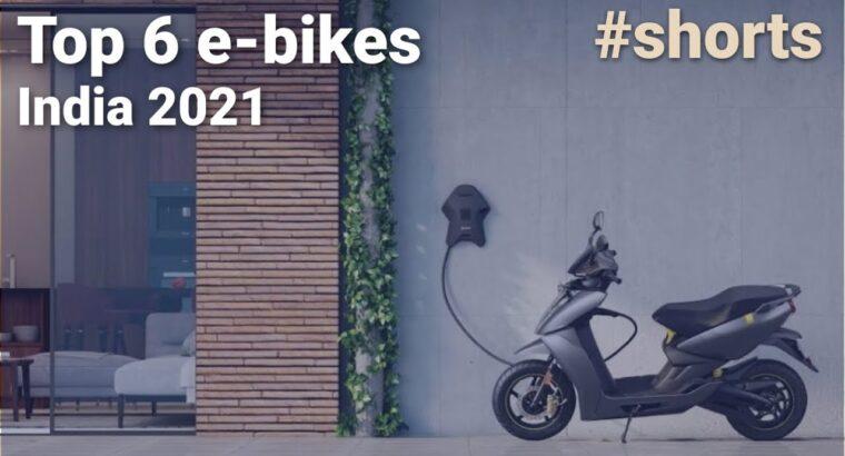 Prime 6 e-bikes in India Jan 2021 #Shorts