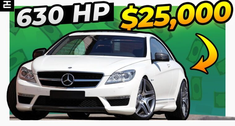 High 7 Coolest USED automobiles for Corolla cash ($25,000)