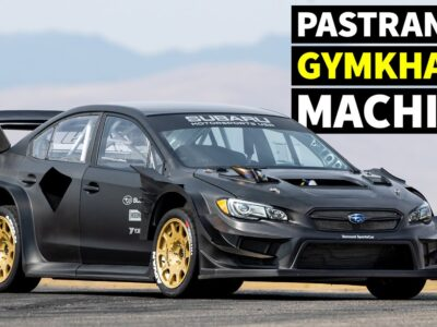 Travis Pastrana's NEW Subaru STI Gymkhana Automotive: First Ever Tire Take a look at (In All Uncooked Carbon!)