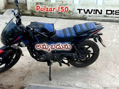 Twin Disc Pulsar 150    Bike on the market    SOLD OUT