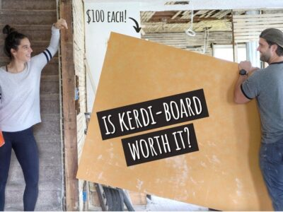 Utilizing Kerdi-Board in a Rental Property for the First Time | EP 11: Street to Our Subsequent Home Hack