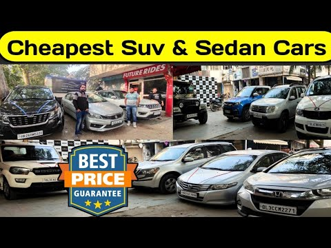 least expensive suv & sedan automobile on the market, Combine section used vehicles, second hand automobile, Experience with new india, vehicles