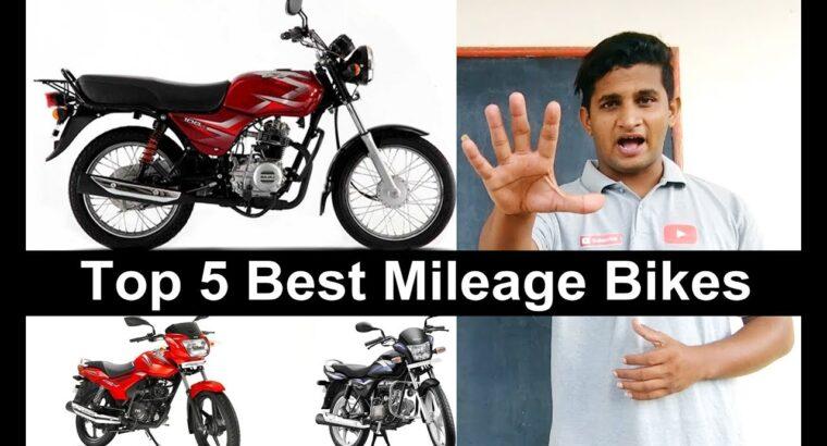 prime 5 mileage bikes in india – Bajaj Ct100b – TVS Sport – Bajaj Platina-Tvs Star Metropolis-SplendorPro