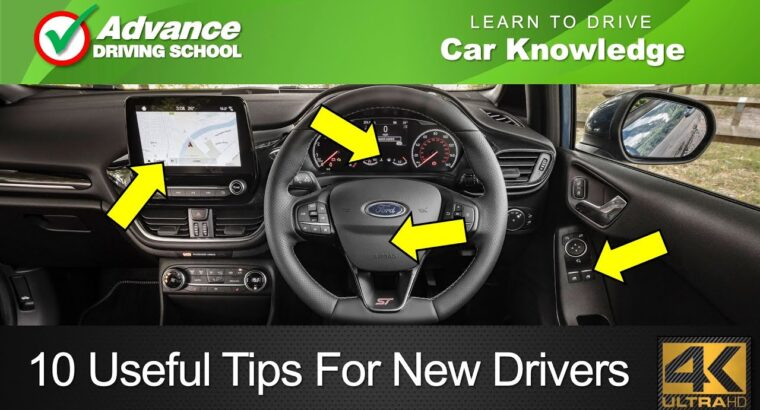 10 Helpful Ideas For New Drivers  |  Study to drive: Automotive Data
