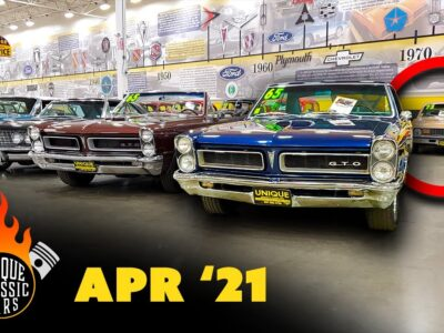 150+ INCREDIBLE Sizzling Rods & Traditional Muscle Automobiles For Sale! | Distinctive Traditional Automobiles Walkthrough April '21