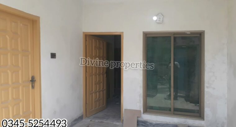 3.5 Marla Double Story Home Constructing for lease in metropolis Close to to Mall of Sargodha