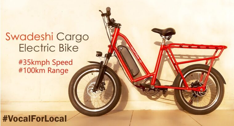 A Made In India Electrical Cargo Utility Bike By Aurita Bikes | All the things You Want To Know | InfoTalk