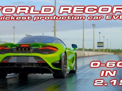 A NEW KING * Quickest Manufacturing automotive EVER * McLaren 765LT 1/four Mile Testing