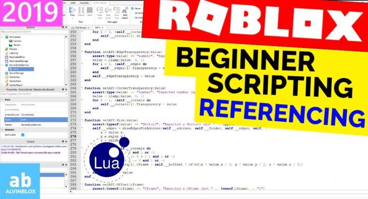 Newbie Roblox Scripting Tutorial 2 – Referencing & Extra Properties