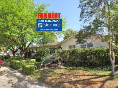Chico Houses for Lease 4BR/2BA by Chico Property Administration