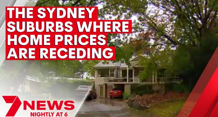 Residence gross sales costs have gone backwards in some Sydney suburbs | 7NEWS