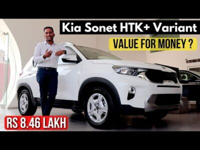 Kia Sonet HTK Plus Video | Worth For Cash & All Engine Choices | Rs 8.46 Lakh  🔥
