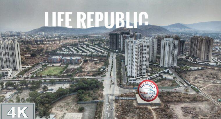 Life Republic Kolte Patil | Full Element in One Video | 4K Aerial View | Hinjawadi – Marunji 2021