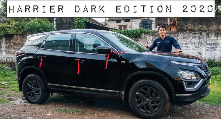 New Automobile In The Household – Tata Harrier Darkish Version 2020 ❤️
