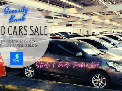 SECURITY Financial institution USED Automobiles SALE 2021   seventh flr SM North EDSA QC   1st Replace of the Month!